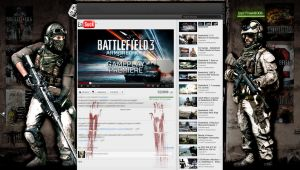 BF3 Layout for Youtube by cris1879 for Freak80gb by cris1879