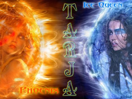 Tarja - Fire Vs. Ice by Nichia