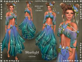 Starlight Silks OCEAN by Elvina-Ewing