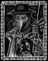 Plague Doctor by XeiArt