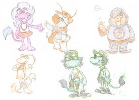 My Fraggles by e4animation