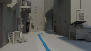 Alleyway Wip 3 by bowser3d