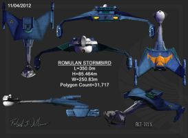 Romulan Stormbird Ortho by XFozzboute
