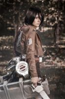 Mikasa Ackerman cosplay [2] by OrdinaryOrganika
