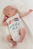 Our son Jack Ryan in Superman pose - 2 month old by CathexisDk
