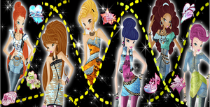 Winx Club Glam Rock Wallpaper by Wizplace