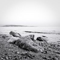 the black and white sea no.11 by herbstkind