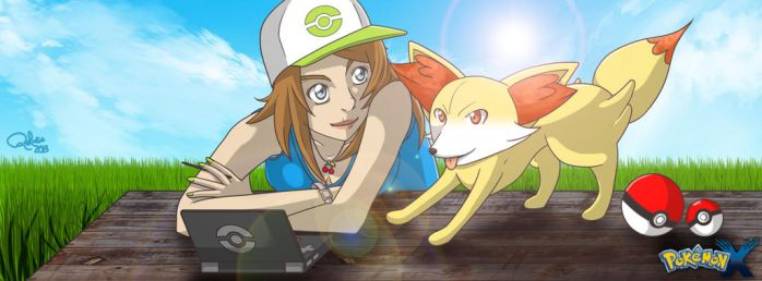 Pokemon X by Quilate