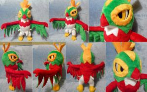 Hawlucha (commission) by Rens-twin