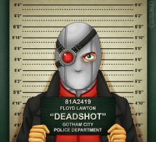 Gotham City Mugshots - Deadshot by Costalonga