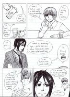 Black Butler page 1 (sketch ver.) by NinjaRosa
