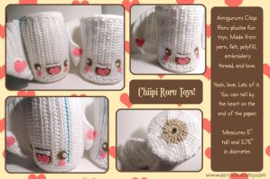 Chiipi Roru Toys II by tedsie