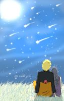 meteor shower by isai-chan