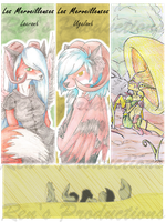 Finished Wonderfuls bookmarks by Rena-Circa