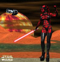 Darth Talon by XSkullheadX