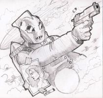 The Rocketeer by Soloboy5
