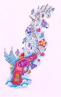 Music Pistol by TattooSavage