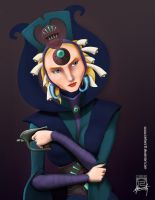 Royally though: Duchess Satine by Mauricio-Morali