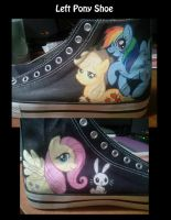 Left Pony Shoe Teaser by Miss-Melis