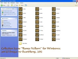 Icons for Folders_Collection ''Runes Vellum'' by Snega-re-Scardlieng