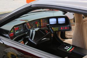 Knight Rider K.I.T.T. Interior by Boomerjinks