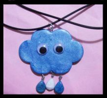 Mr cloud pendant by AnaInTheStars