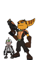Ratchet and Clank by The2ndD