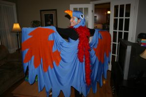 Blue Bird Costume back 2009 by CaroRichard