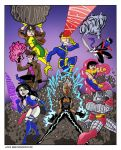 X-Men adjectives by TheNoirGuy