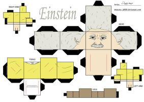 Einstein by Cubee-acres