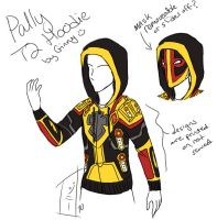Paladin T2 Hoodie Concept Art by MagicalMelonBall