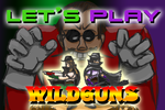 Let's Play Wildguns Titlecard by WizWar100