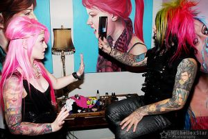 Dahvie and Kelly by KellyEden
