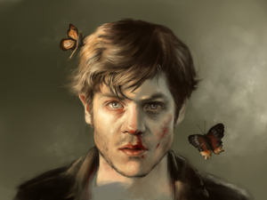 Iwan Rheon by Mary-Sara