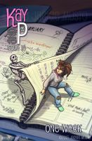 Kay and P: Issue 15, One Week by Jackie-M-Illustrator