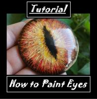 Tutorial: How to Paint Eyes by BacktoEarthCreations