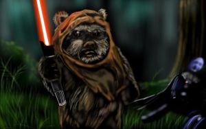 ESB-Ewok Strikes Back by DarthMater
