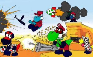 Team Fortress Yoshi by CommissarKinyaf