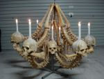 bone chandelier by leighmarsh