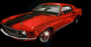 Mustang 1969 by Frenchtouch29