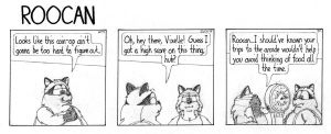 Roocan Strip 141 by BruBadger