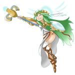 Palutena for Beastmegs by drivojunior