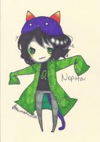 Nepeta Chibi by TravelersDaughter