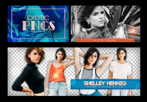 Pack Png 736 // Shelley Hennig. by ExoticPngs