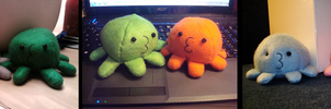 Squidlettes by IxLovexEwexPlushies