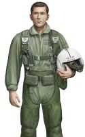 Vietnam era USAF pilot 1 by dashinvaine