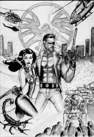 Nick Fury: Agent of SHIELD by Mooneyham