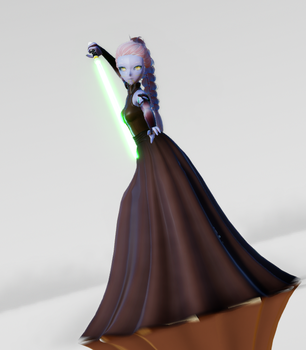 MMD Starwars - Nyowon by Chocolate-Mints
