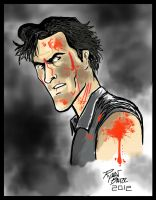 Bruce Campbell Evil Dead by RADMANRB