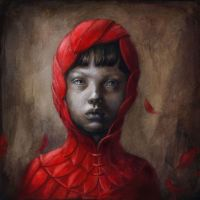 Little Red 08 - Fully Red by BeatrizMartinVidal